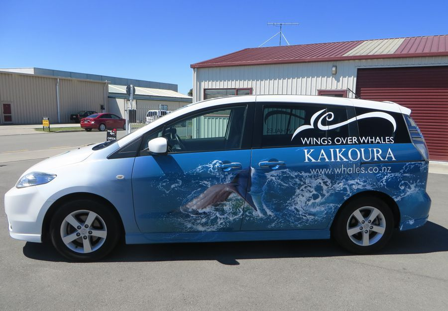 From cut vinyl text to full vehicle wraps